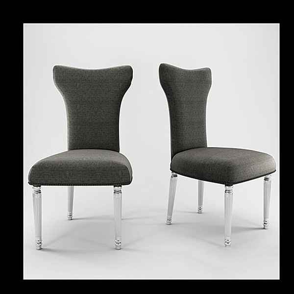 Chair Of Fashion 3D Models 02