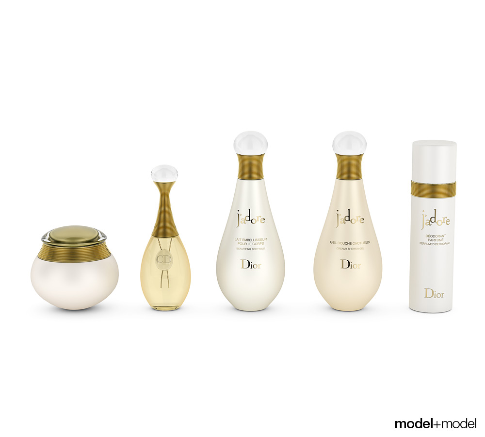 Cosmetic Kit 3D Models