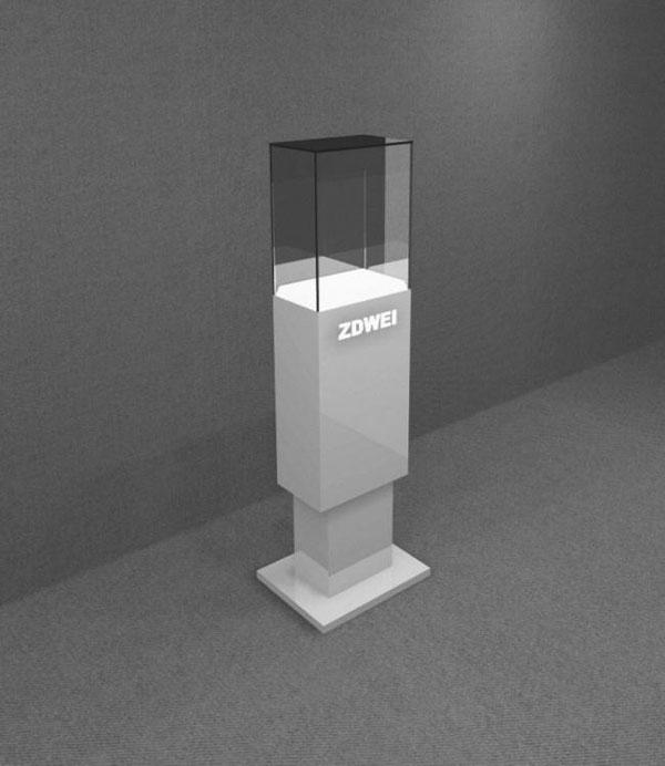 Counter Showcase 3D Models 01