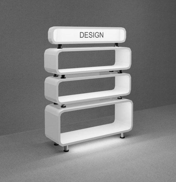 Counter Showcase 3D Models 02