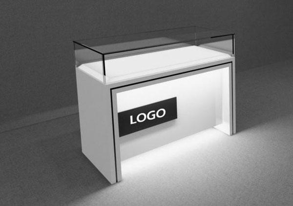 Counter Showcase 3D Models