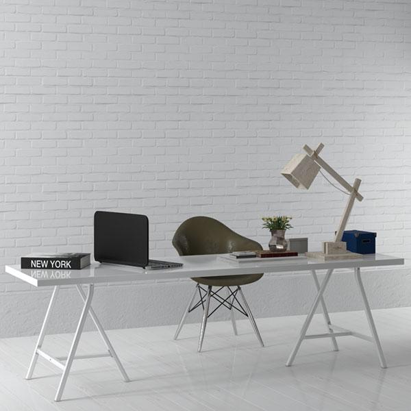 Desk Study 3D Model