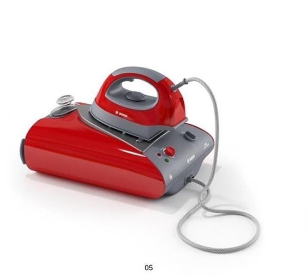 Electric Iron 3D Model