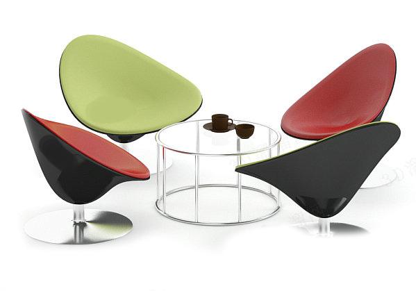 European Furniture 3D Models 01