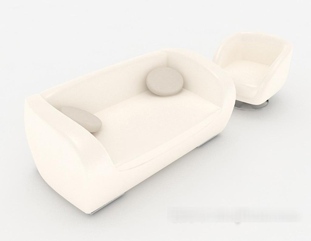 Multi-People Sofa 3D Models 01