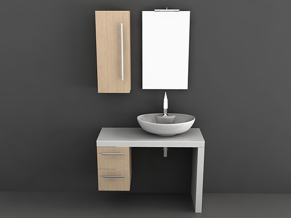 Washing Table 3D Model
