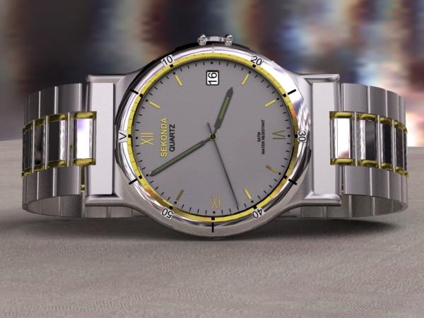 Watch 3D Model 01