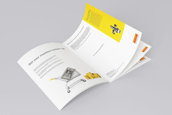 Business book mockup PSD 01