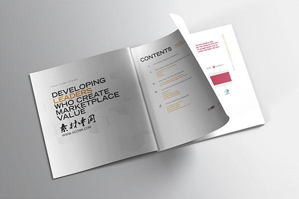 Business book prototype PSD