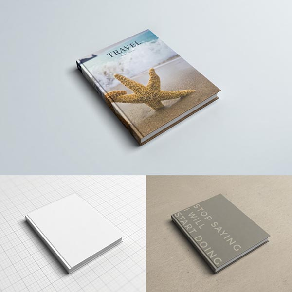 Business-business book prototype PSD