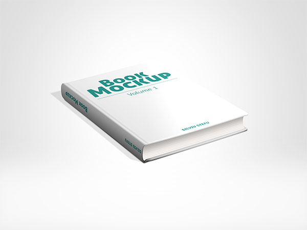 Cover book prototype PSD