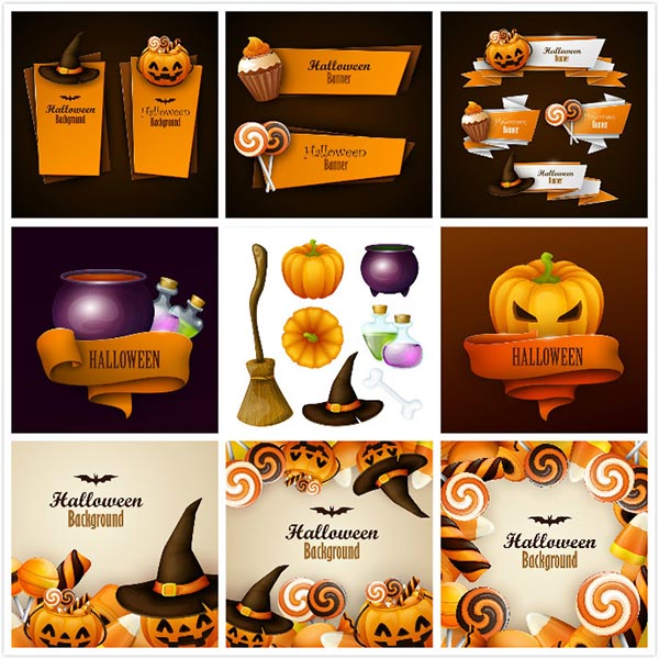 Halloween vector EPS