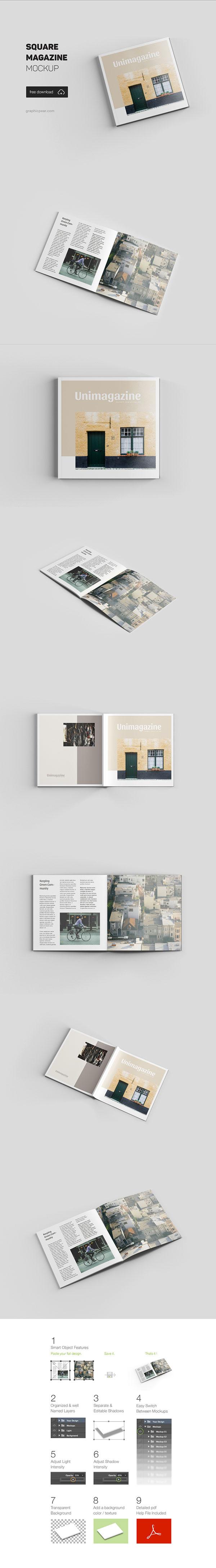 Home magazine album prototype PSD