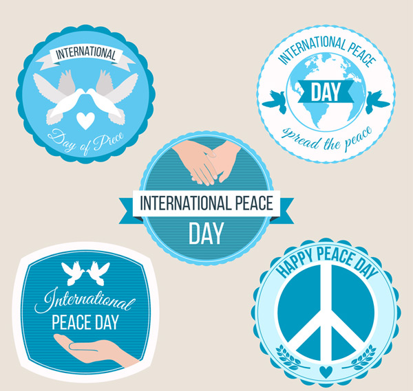 International day of peace tab vector AI 01