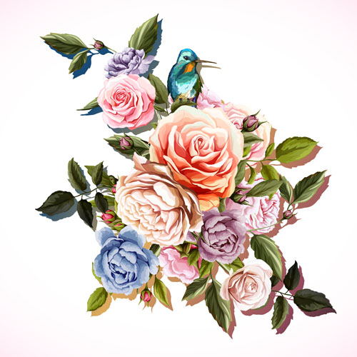 Painting the Roses Vector AI 01