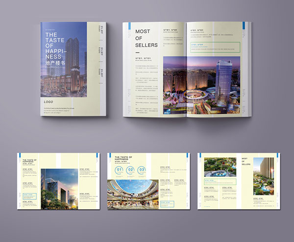 Real estate brochure PSD 01