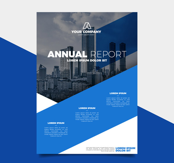 Business Annual Report Vector AI